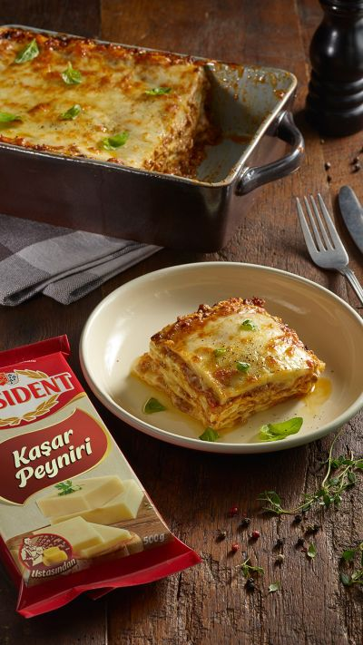 Lasagna with President Kashar Cheese