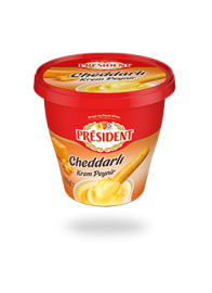 President Cheddar Cream Cheese