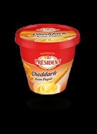 President Cheddar Cream Cheese